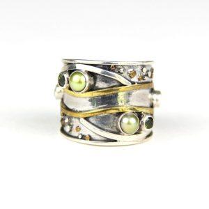 echo adjustable green ring