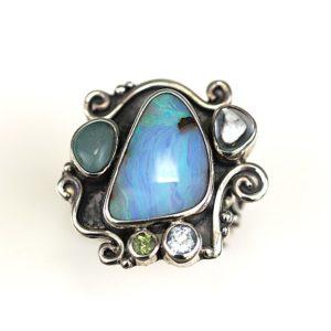 echo swirl with opal