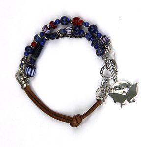 rutledge lapis trade beads bracelet