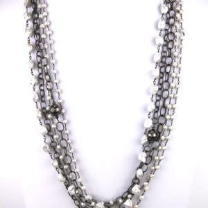 safia 5 pearl and chain with di beads 1200