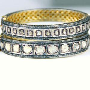 safia diamond bangles