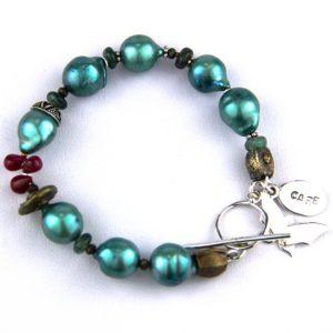 Rutledge mint pearl bracelet 120