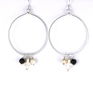 gretchen silver ears with dangles