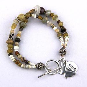 rutledge double strand pony beads 90