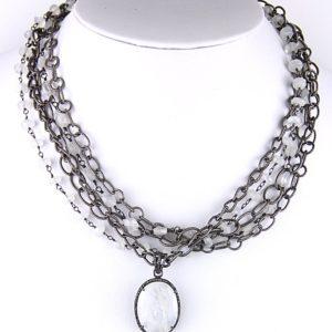 safia moonstone and diamond pend
