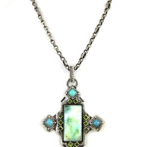echo andean opal chalcedony neck