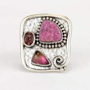 echo pink picasso ring full