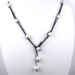 vince bohemian pearl neck