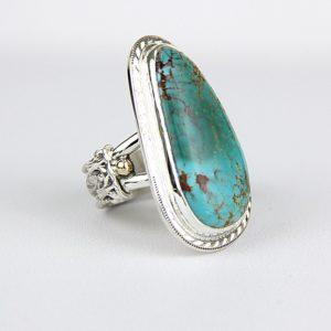 reve turquoise mountain ring