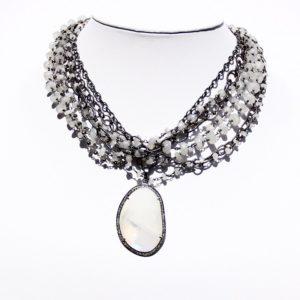 safia moonstone and diamond neck 1400