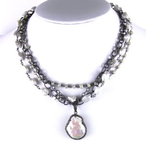 safia multi with pearl and diamond 1000