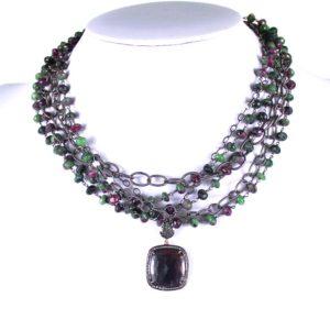 safia rubalite with sapphire and diamond pend 900