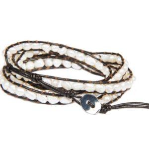 Vince pebble wrap bracelet